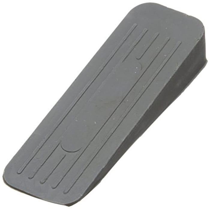 Merriway BH02509 Deluxe Heavy Duty Non-Slip Rubber Door Wedge Stopper