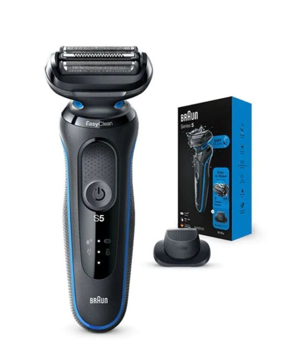 Braun Series 5 50-B1200s Electric Shaver for Men, Blue