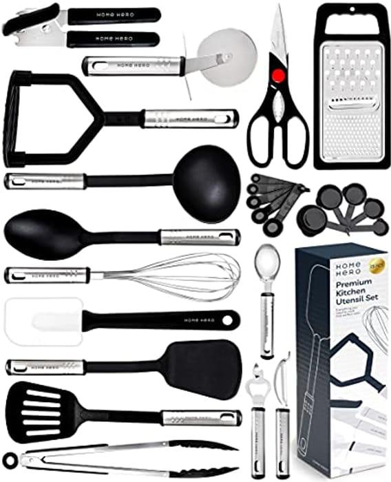 Kitchen Utensil Set - 23 Pcs