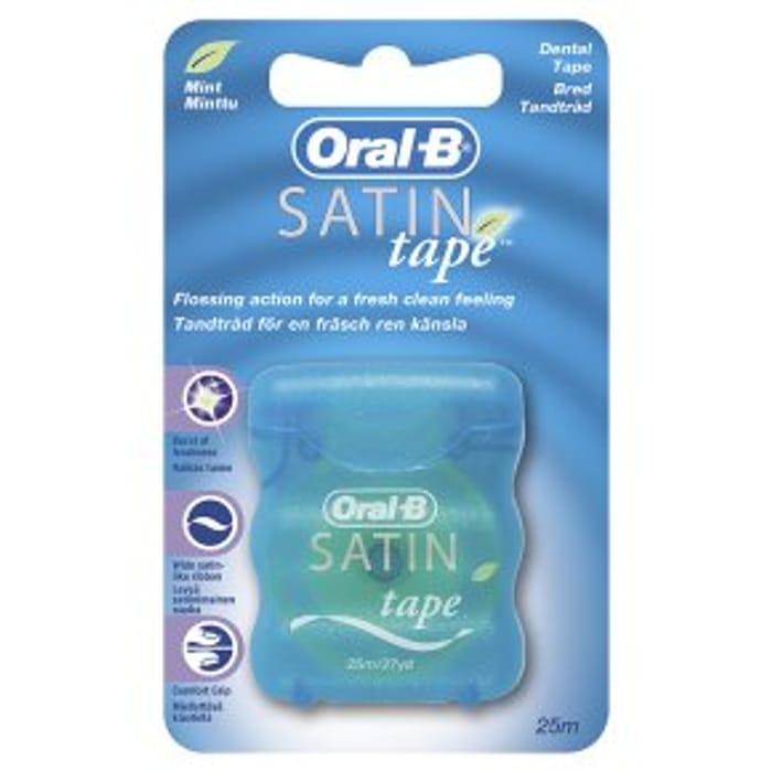 Oral-B Mint Satin Tape25m
