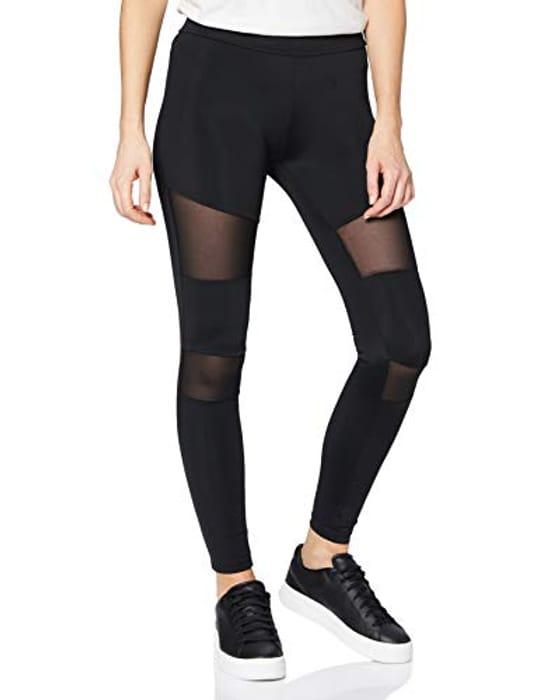 Urban Classics Women's Ladies Tech Mesh Leggings