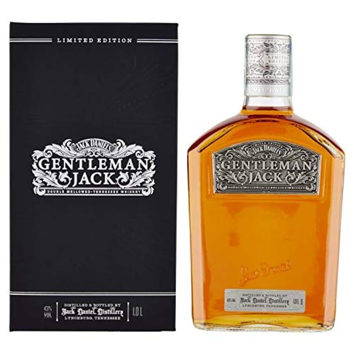 Jack Daniel's Limited Edition Gentleman Jack, 1 LITRE **4.9 STARS**