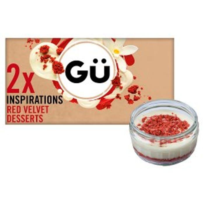 GU Inspirations Red Velvet Dessert2x82g