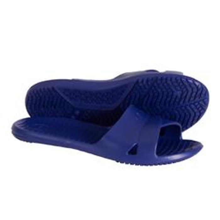 Women Basic Pool Sandals - Dark Blue