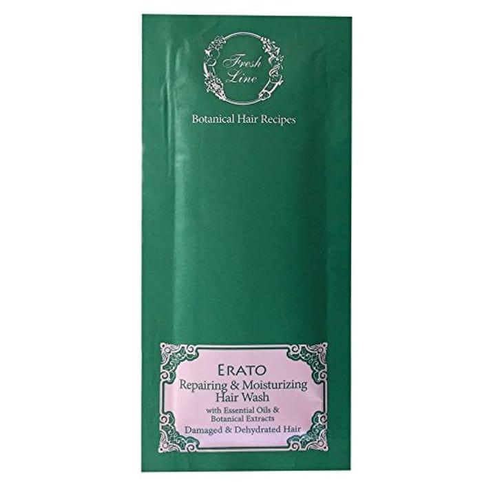 Fresh Line Erato Repairing Hair Wash for Damaged & Dehydrated Hair 8 Ml