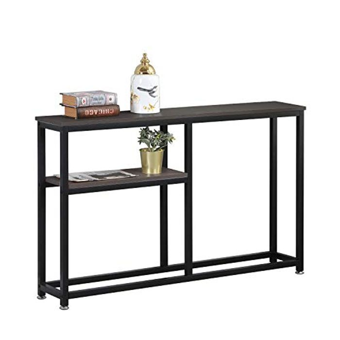 DEAL STACK - Soges Hallway Entryway Console Table with Shelf + 20% Coupon