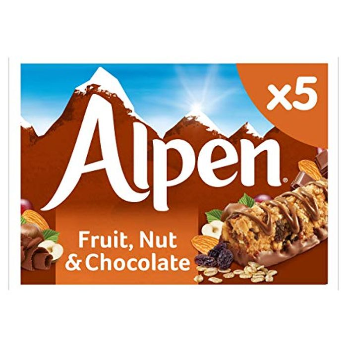 Alpen Fruit and Nut with Milk Chocolate Bar, 145g