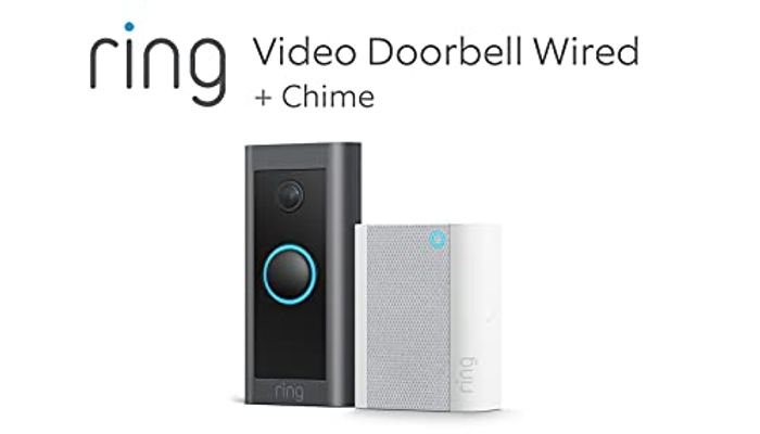 Ring Video Doorbell Wired + Chime (Amz Prime Exclusive)