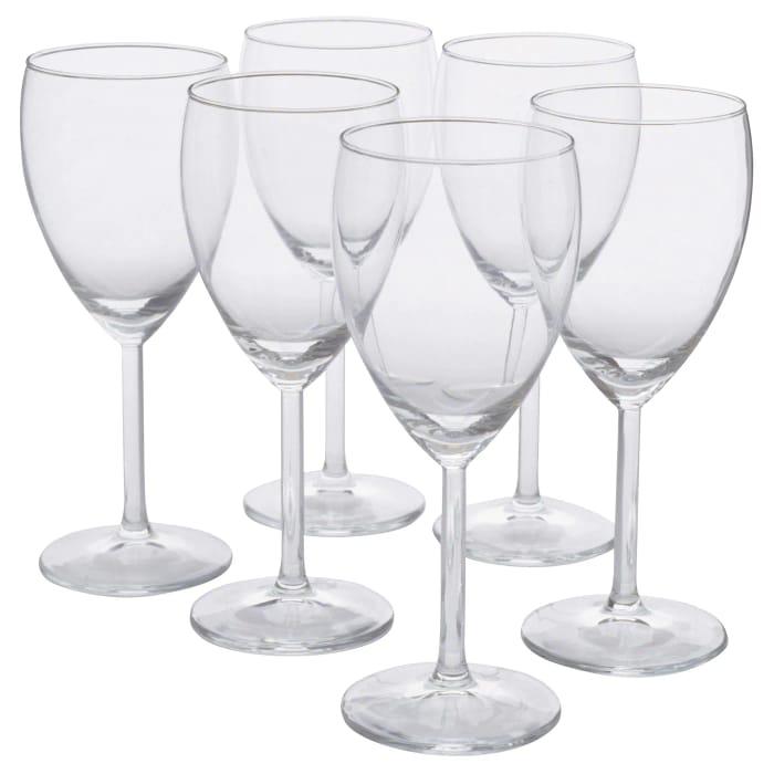 6 PACK White Wine Glasses