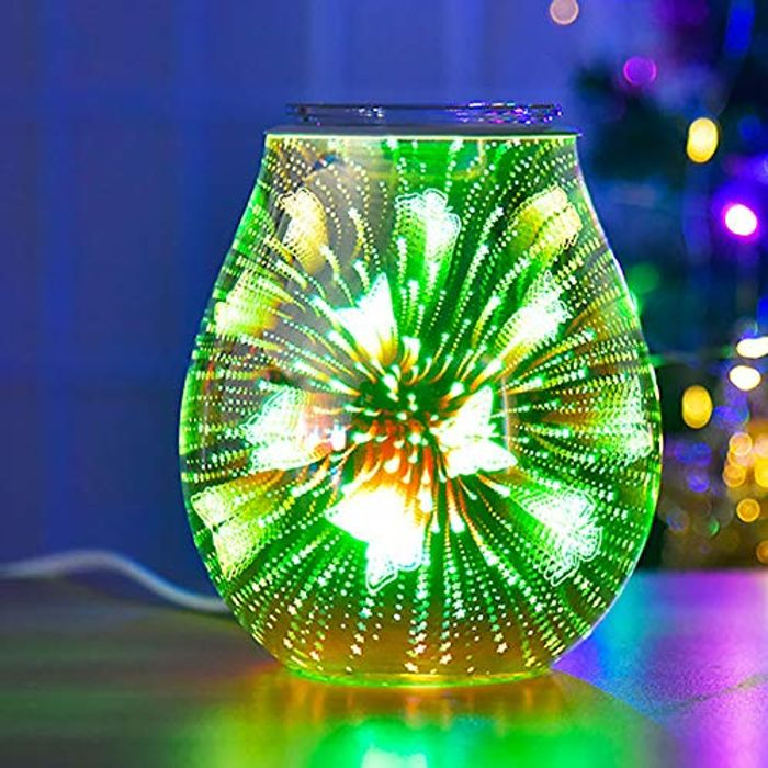 Glass Electric Oil Burner Wax Melt
