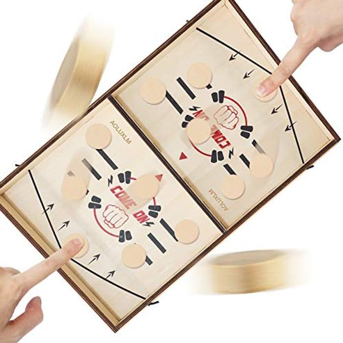 70% Voucher- Sling Wooden Hockey Games for Kids