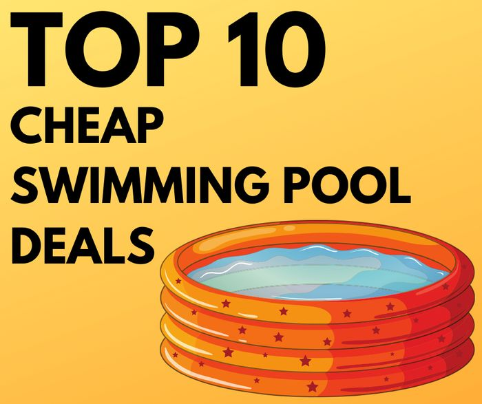 10 Cheap Swimming Pools - From £12