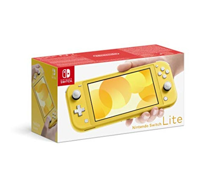 Nintendo Switch Lite - Yellow - Only £179.99!