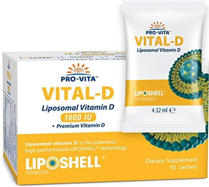 PRO-VITA Liposomal Vitamin D - High Absorption- 30 Sachets