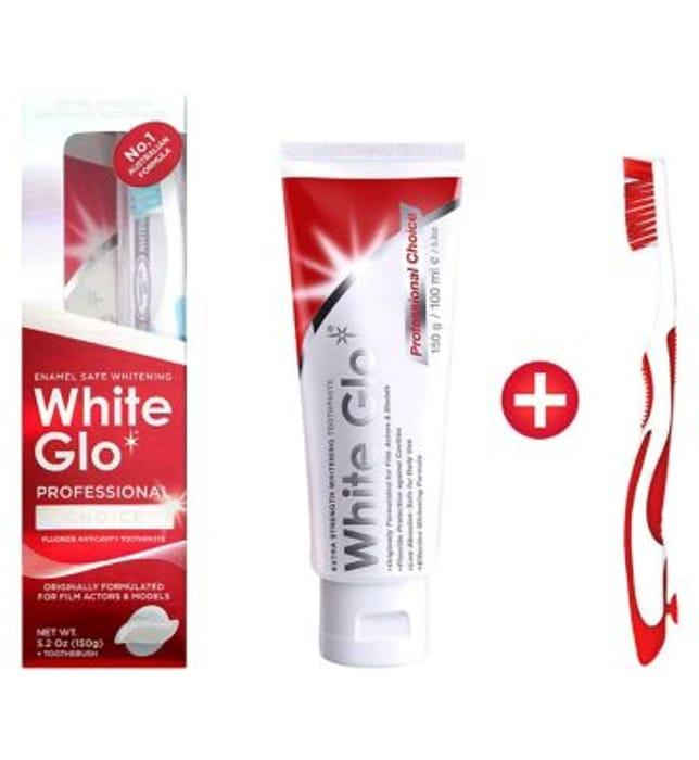 White Glo Professional Choice Whitening Toothpaste 100ml
