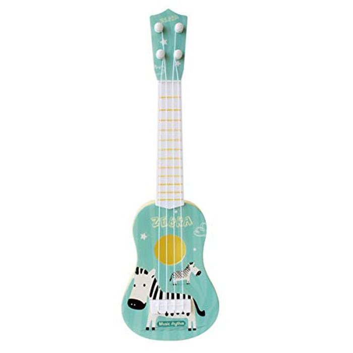 Cheap Kids Toy Guitar 4 Strings Mini Children Musical Instruments - Only £6.99!
