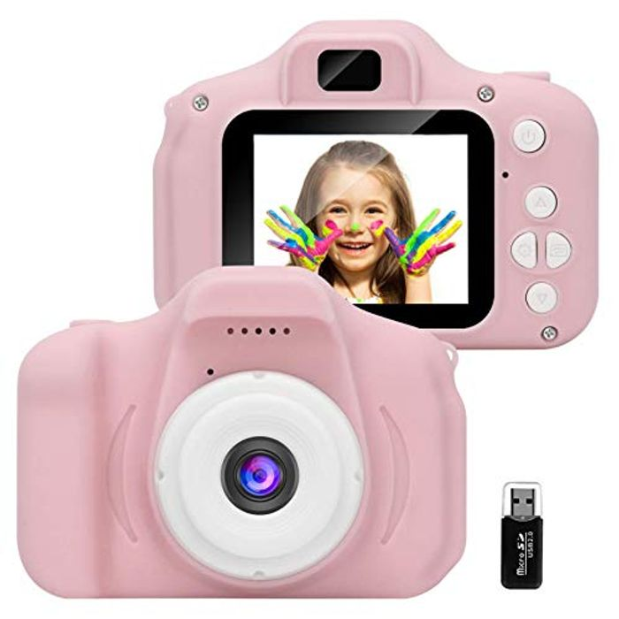DEAL STACK - GlobalCrown Mini Rechargeable Kids Camera + 5% Coupon