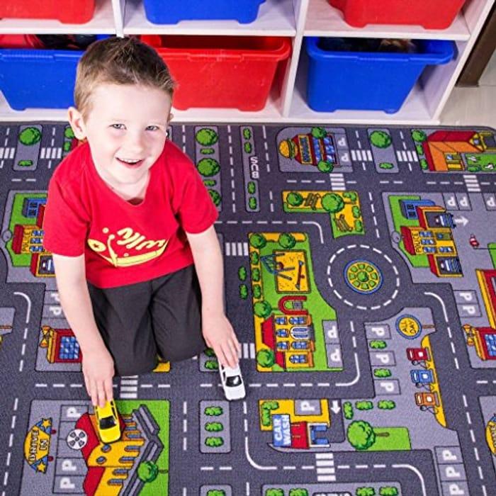 Children's Play Village Mat Town City Car Roads - Only £8.95!