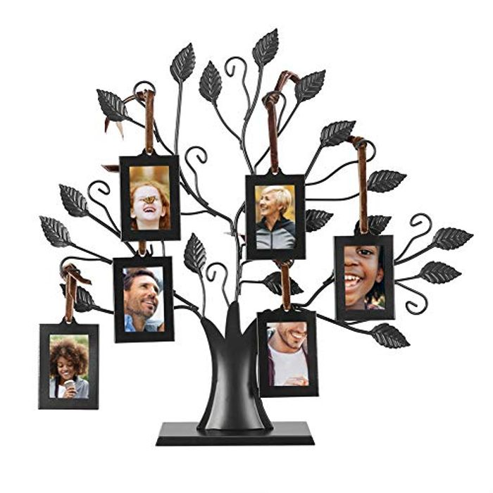 6 Hanging/12 Hanging Photos Display Tree - Only £7.4!