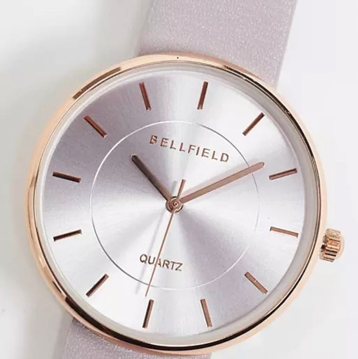Bellfield Watch in Purple with Rose Gold