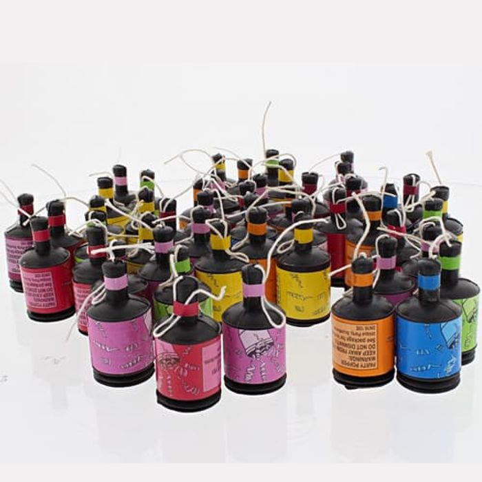 Party Poppers - Pack of 50