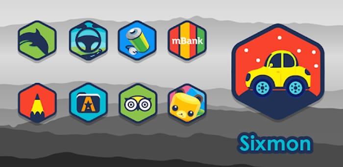 Sixmon - Icon Pack