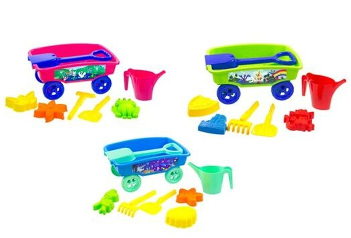 CHEAP! Carousel Lets Go Sand Wagon HALF PRICE