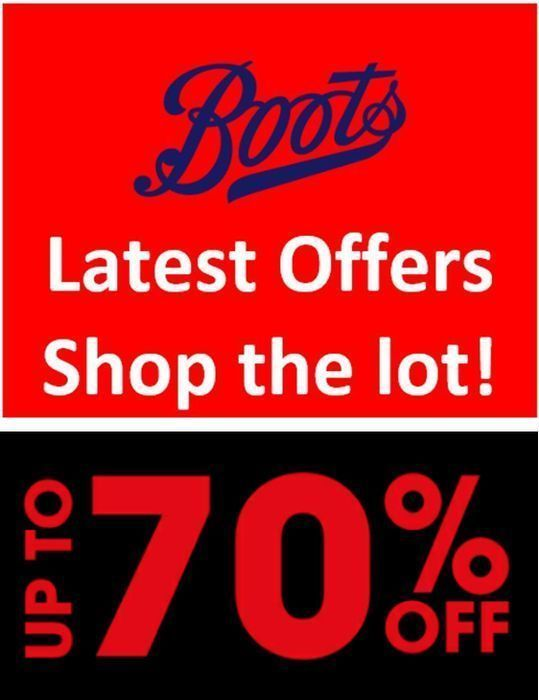 Boots - LATEST DEALS & OFFERS - The Complete Range