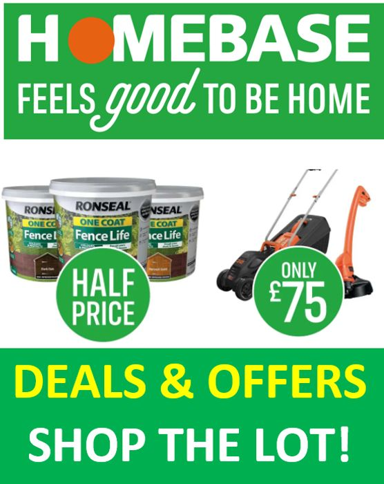 HOMEBASE - Deals & Special Offers - Shop the Lot!