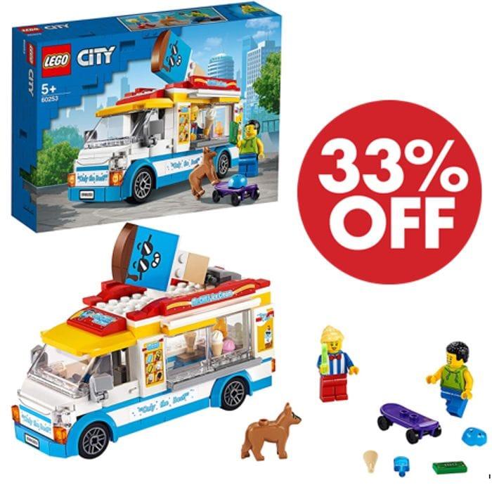 CHEAP! LEGO CITY - Ice-Cream Truck - 60253