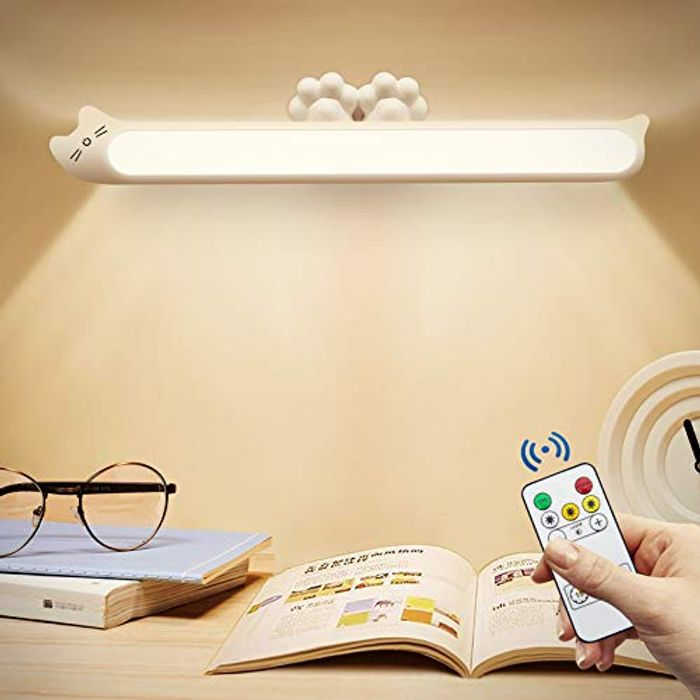 JMZZY USB Dimmable under Cabinet Light with Remote Control (Black or Pink)