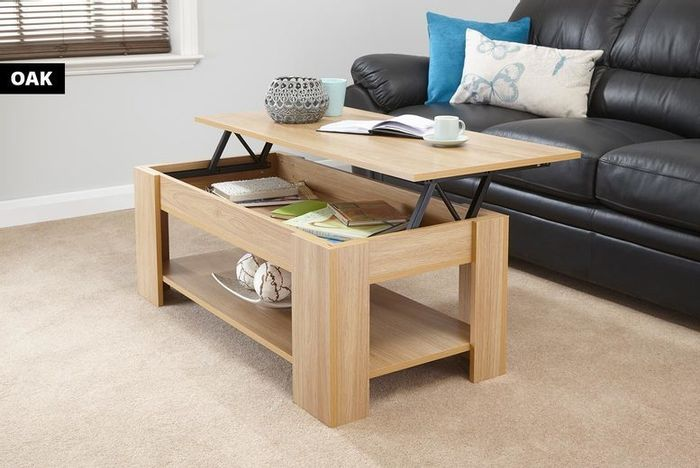 *SAVE £66* Large Lift-Top Ancona Coffee Table - 5 Colours!