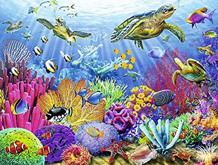 1000pcs Jigsaw Puzzle - Seaworld