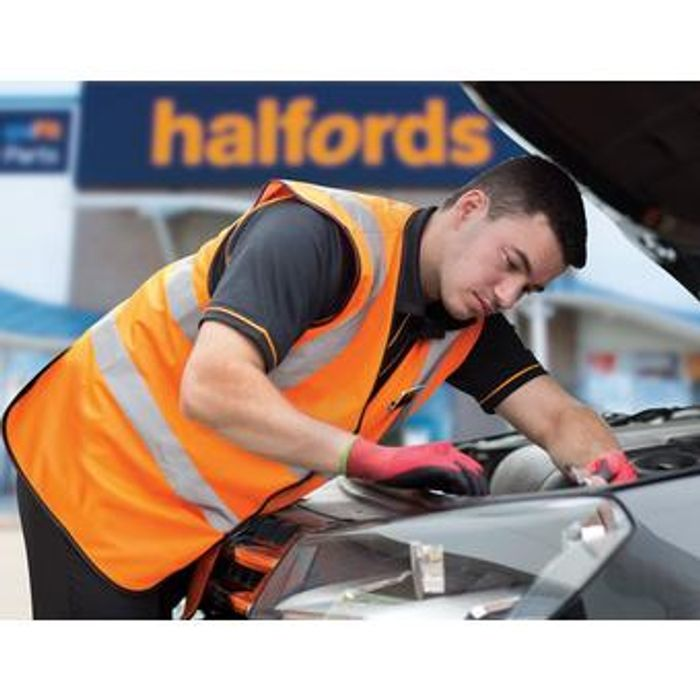 Claim Your Free Vehicle Check with Halfords at One of over 450 Local Stores