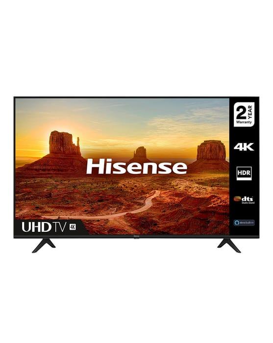 """Hisense 43A7100FTUK 43"""" 4K HDR Ultra HD LED Smart TV"""