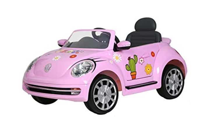Rollplay VW the Beetle 6V Rechargeable Battery Car.