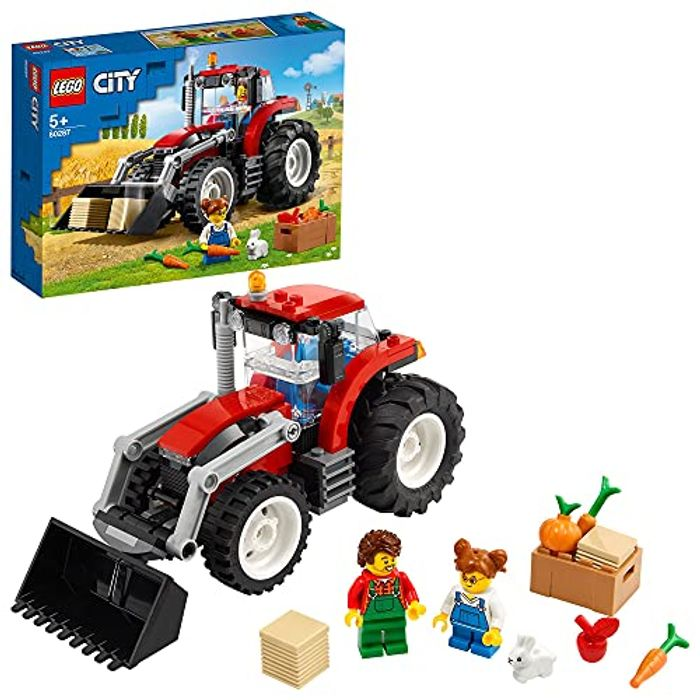 LEGO 60287 City Great Vehicles Tractor Toy