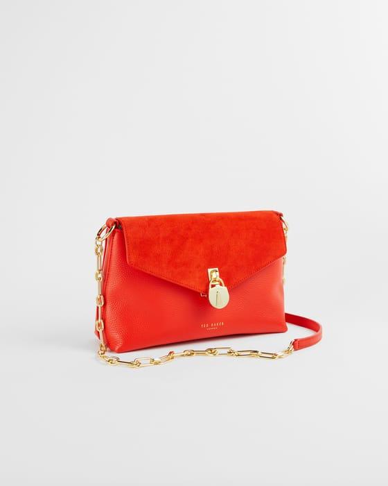 MILIAA Padlock Detail Cross Body Bag