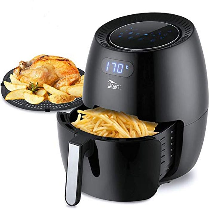 DEAL STACK - Uten 1800W 6.5L Power Air Fryer with Digital Display + £15 Coupon