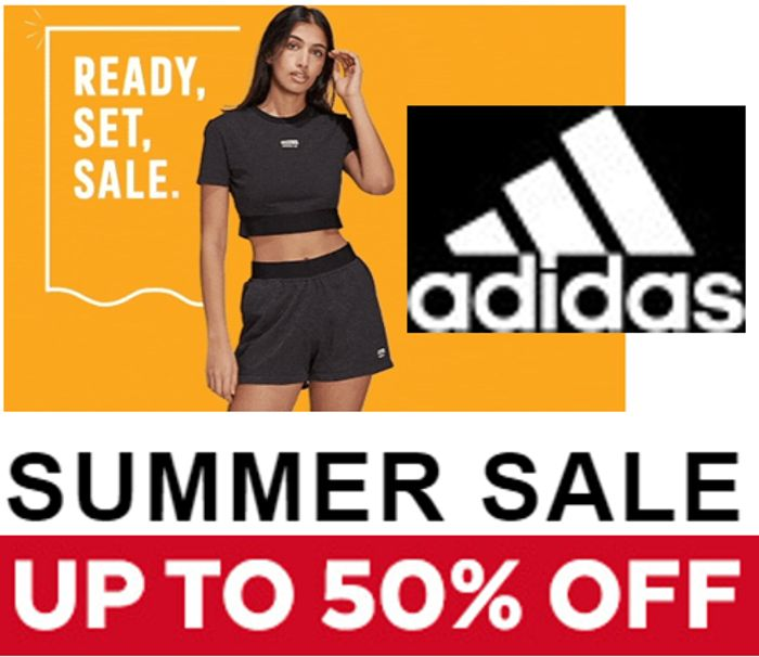 Adidas Summer Sale up to 50% Off + EXTRA 20% OFF