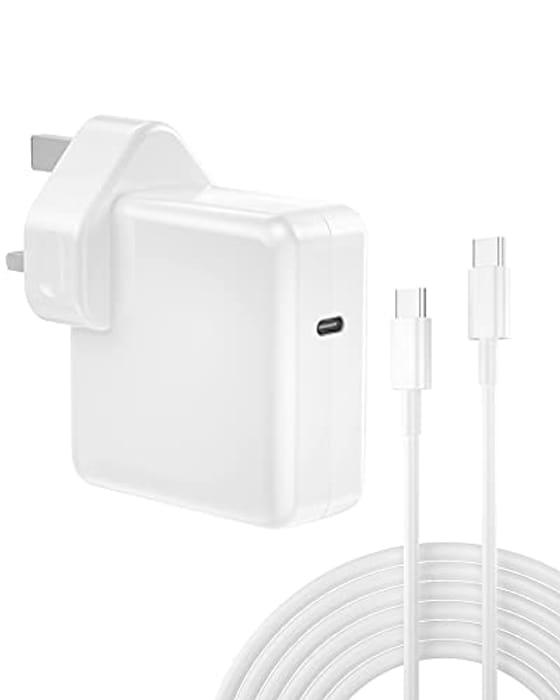 61W USB C Power Adapter Compatible Macbook