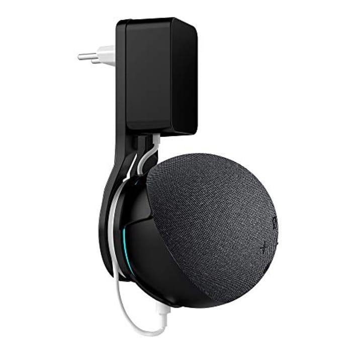 SOKUSIN Compact Wall Hanger Bracket for Echo Dot 4th Generation