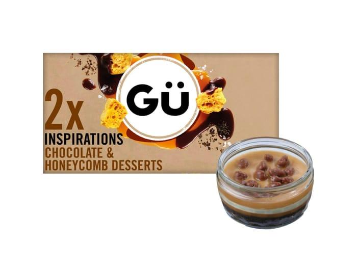 Get 2 G Inspirations Chocolate & Honeycomb Desserts for Half Price