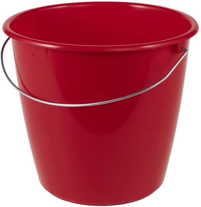 5 Ltr Bucket in Lava Red