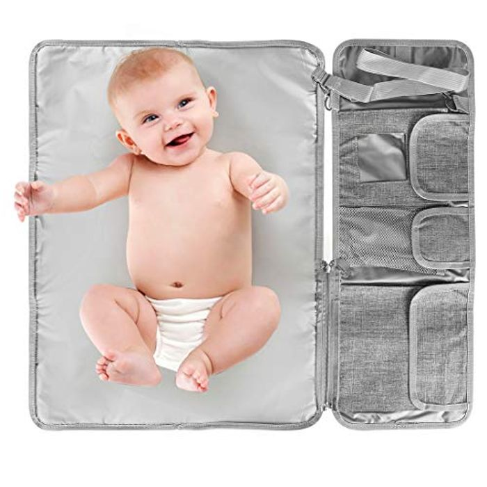 E-More Portable Nappy Changing Mat - Only £3.78!
