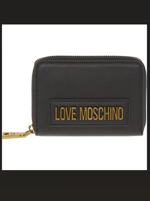 LOVE MOSCHINO Black Leather Purse