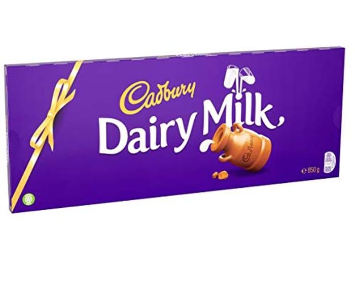 Cadbury Dairy Milk Chocolate Gift Bar 850g - Only £5.90