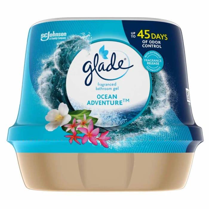Glade Ocean Adventure Bathroom Gel 180g