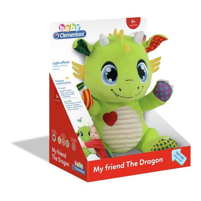 Baby Clementoni Dragon Soft Toy