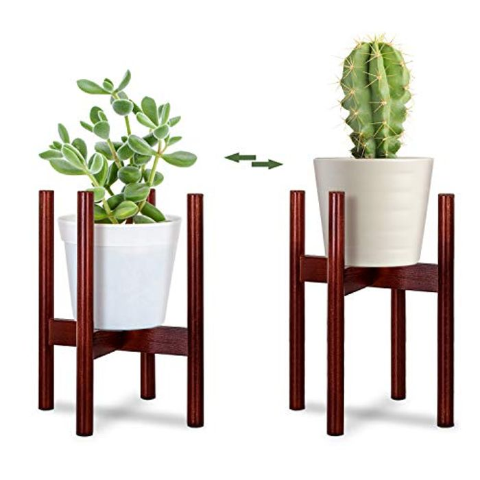 Sanlinkee Wooden Plant Stand mid Century Flower Pot - Only £4.80!
